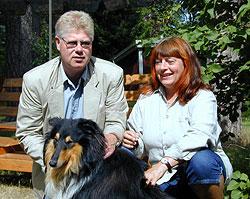Lisbeth Pedersen, Villa Harmoni tillsammans med Mats ochKing