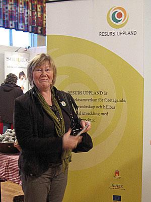 Anne från Resurs Uppland i vår monter